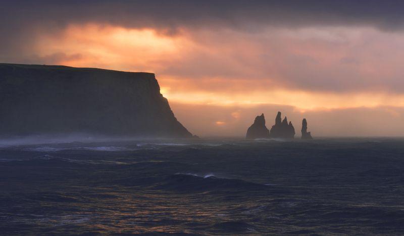 исландия, iceland Рождение нового дняphoto preview