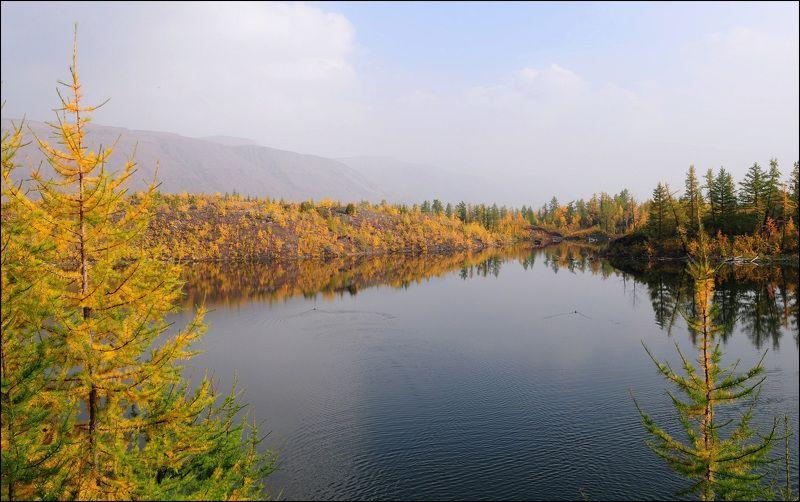 Таймыр,сентябрь,осень Осенние озера Таймыраphoto preview