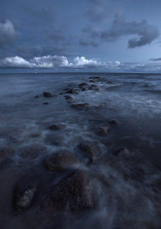 Финский залив Белая балтийская ночьphoto preview