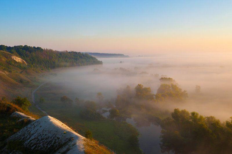 Утро на реке Кореньphoto preview