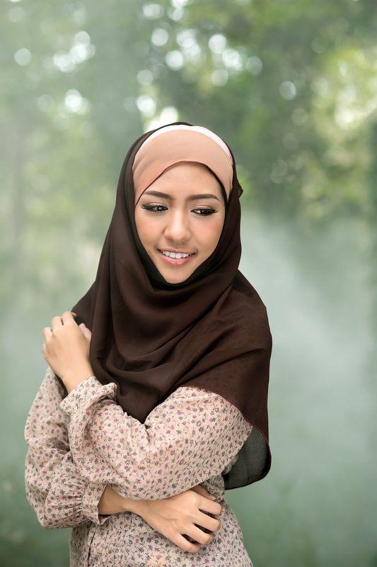 muslim,day,portrait,women,southeast asia,lifestyle, Muslim portraitphoto preview