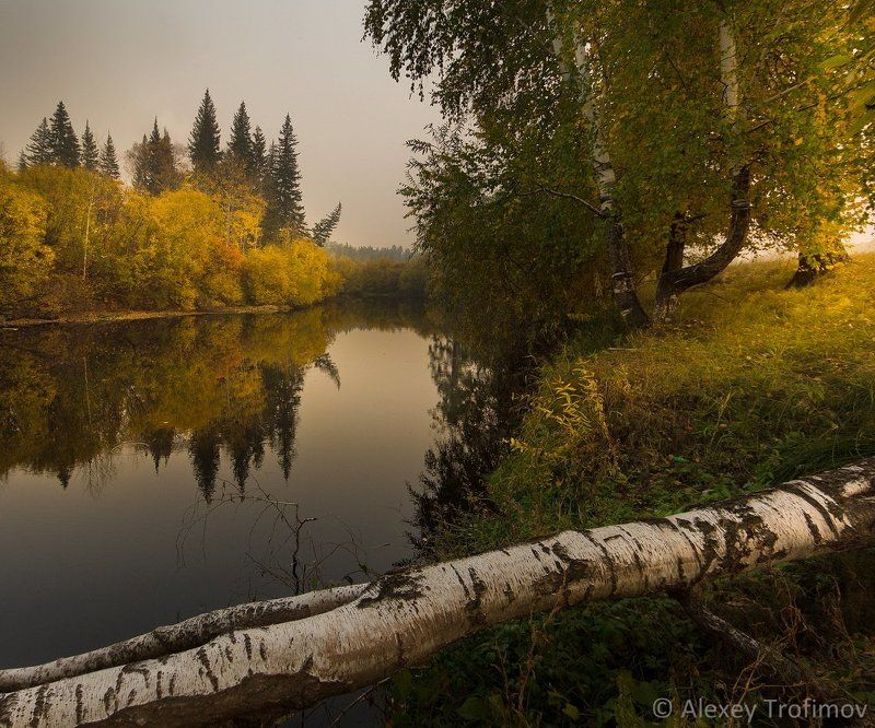 Осень, Пейзаж Осенняя тишинаphoto preview