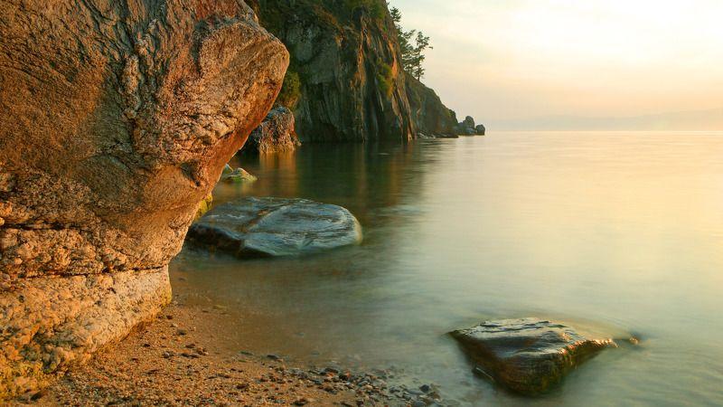 вечер Ольхона (озеро Байкал)photo preview