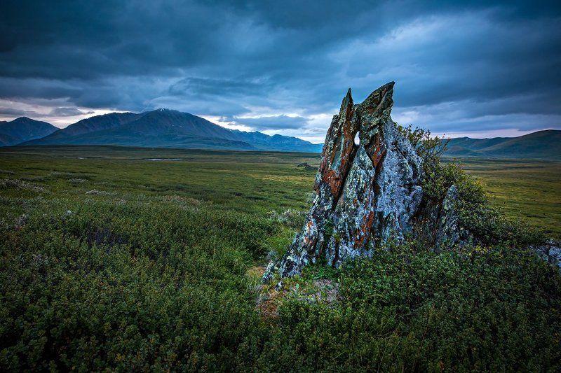 Вечер на плато Ештыкёльphoto preview