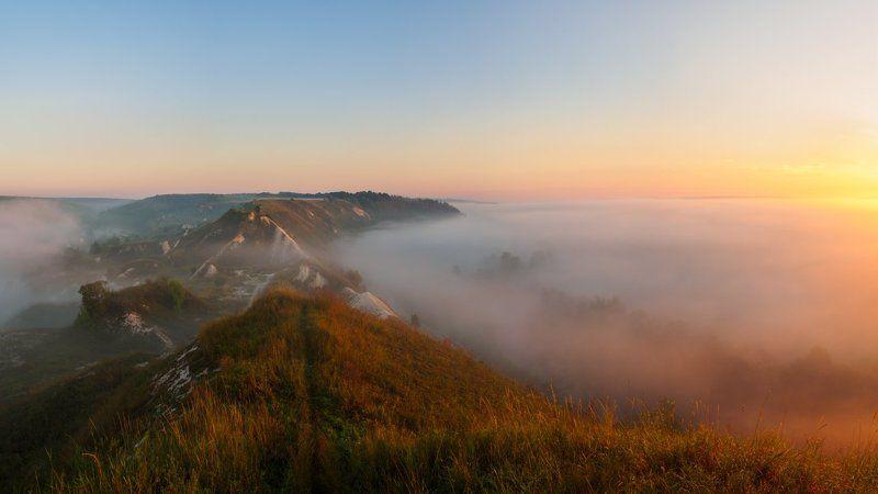 Рассвет в меловых горахphoto preview