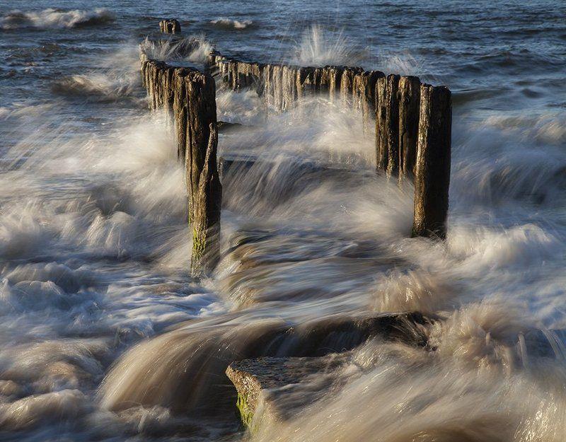Baltic, Breakwaters, Water waterphoto preview