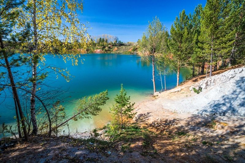 апрелька, кемеровская область, кузбасс, озеро, пейзаж, lake, sky Апрелькаphoto preview