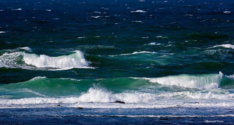 Волны, Тихий океан, Штиль, Шторм Тихий океанphoto preview