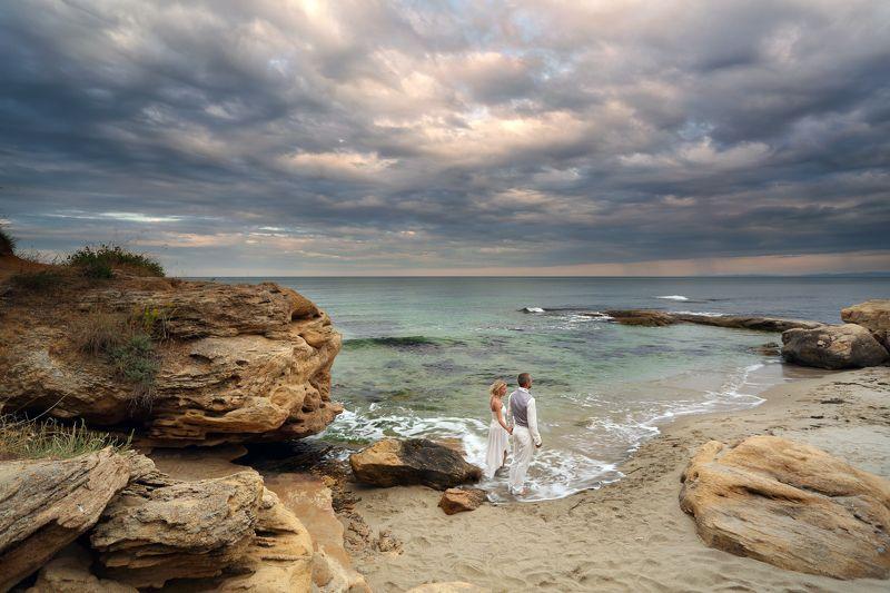 Black sea, Ravda, Wedding Ну, пошли...photo preview