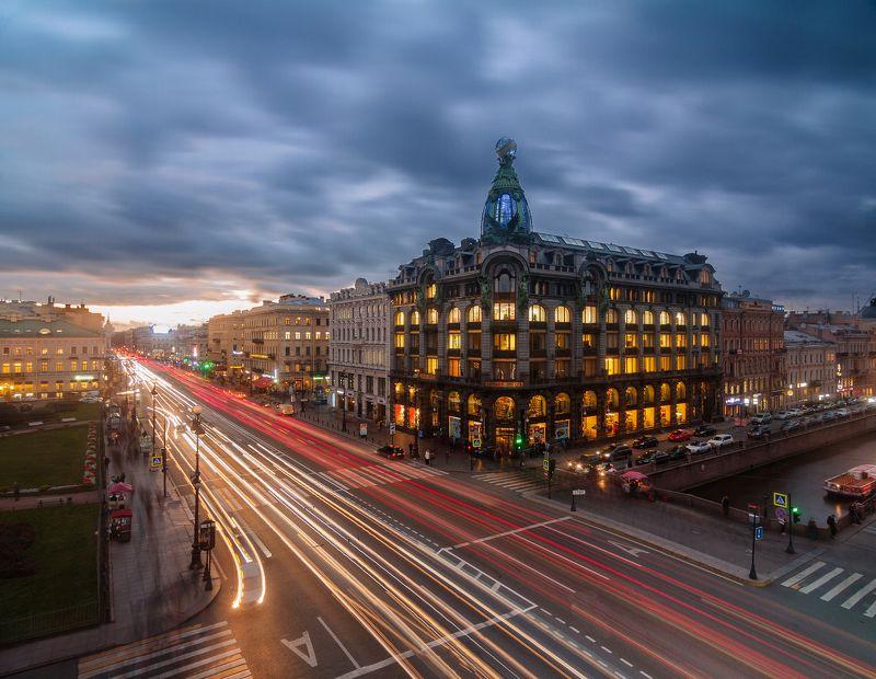 Санкт-Петербург, город, ночь, Urban, Urban Exploration, выдержка Зингерphoto preview