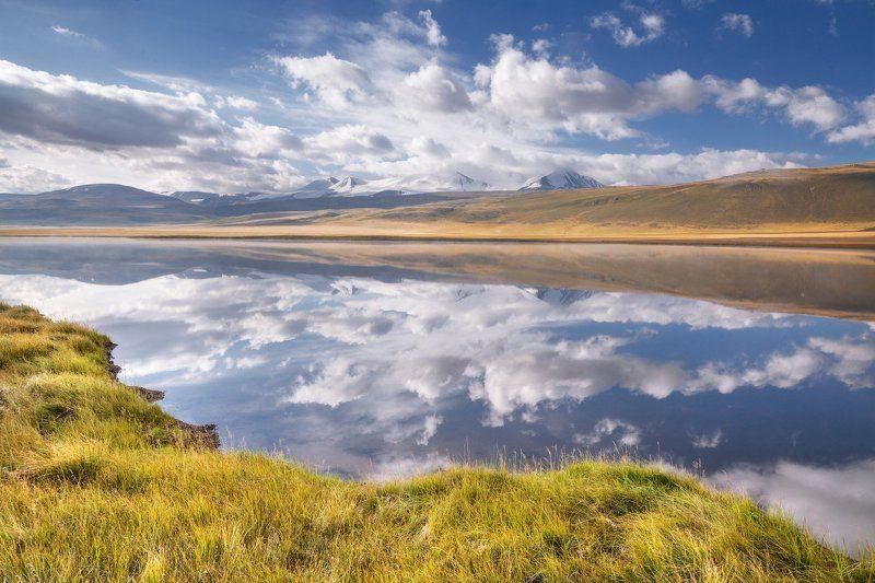 Алтай, Восход, Горы, Озеро, Рассвет, Укок На Укокеphoto preview