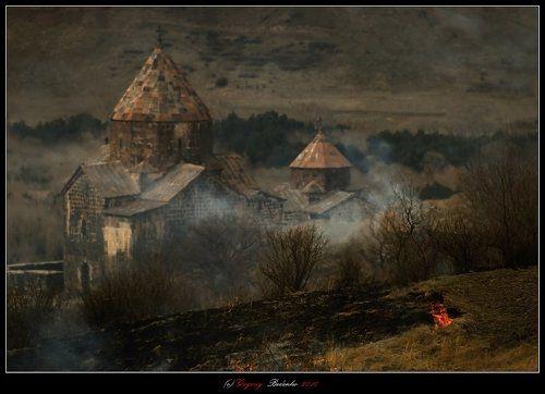 # Севанский монастырь #