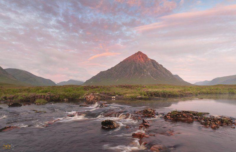 фототур, шотландия, рассвет Первый луч на Бушелеphoto preview