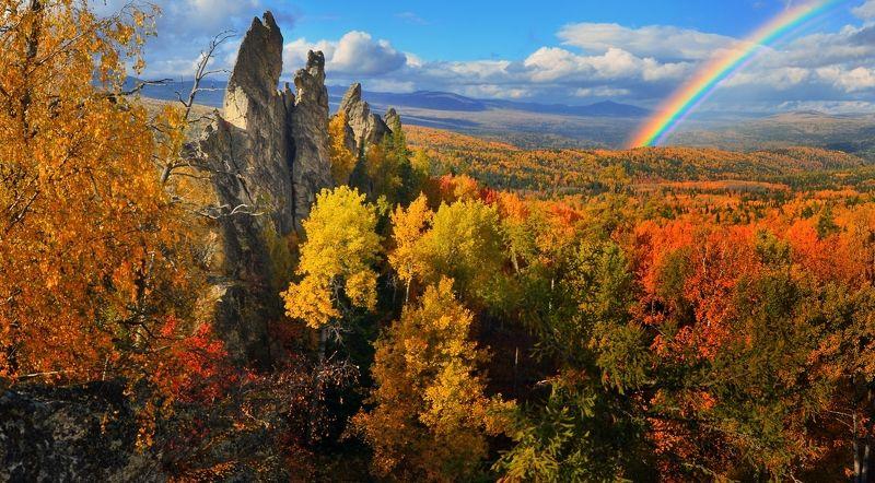 Осень в свете радугиphoto preview