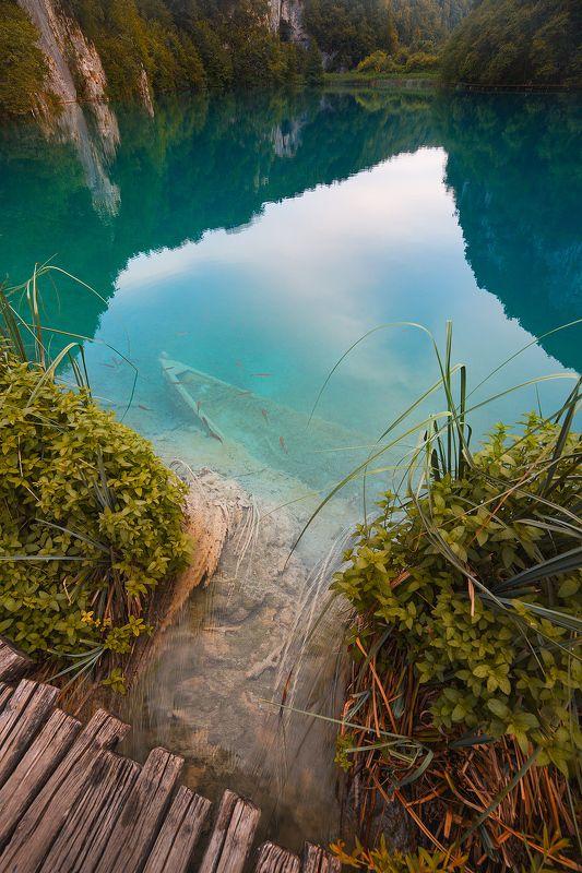 природа, путешествия, хорватия, travel, nature, narurephptpgraphy, lake, croatia Подводный мир Плитвицких озерphoto preview