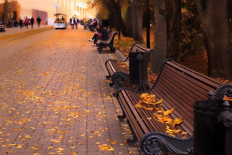 Снова осень нам танцует вальс-бостон.....photo preview