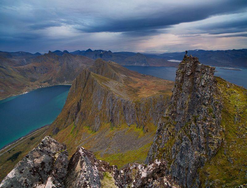 norway, норвегия На вершине горы Husfjelletphoto preview
