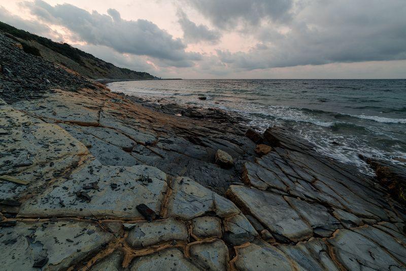 Утренние фактуры и море .photo preview