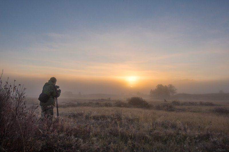 Туманное утро на Джангыскольphoto preview