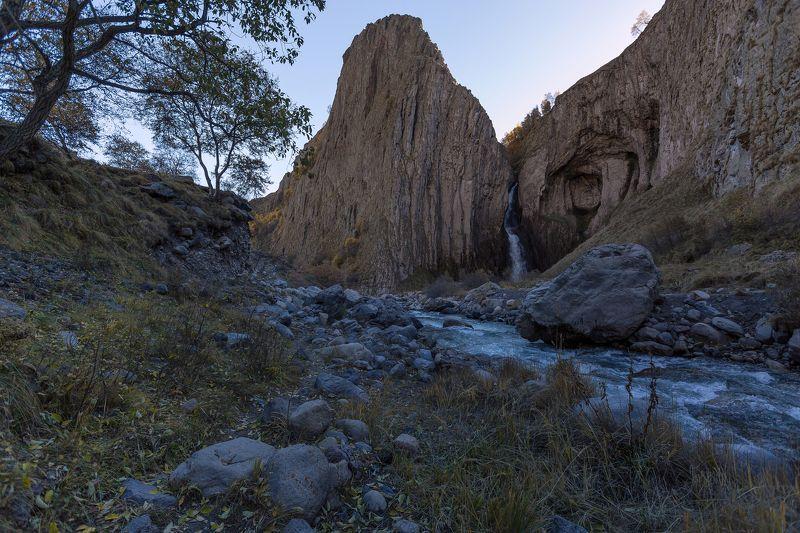 Водопад, Джилысу, Кбр Водопад Каракая-Су...photo preview