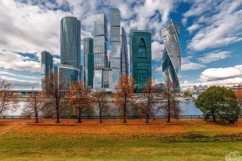 москва-сити,москва,город,сити,осень, Москва-Ситиphoto preview