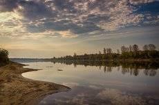 Баланс души. Утро над Вяткой рекой..