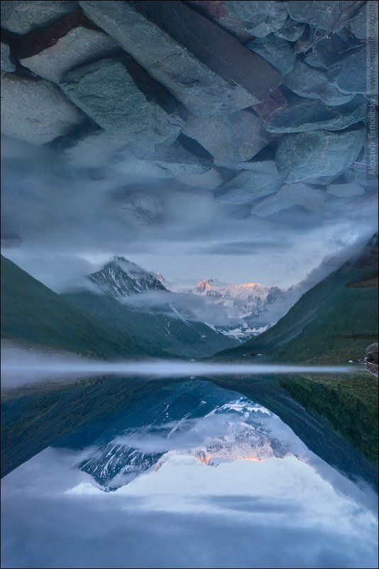 Алтай, Altai ~ Аккемское небо ~photo preview