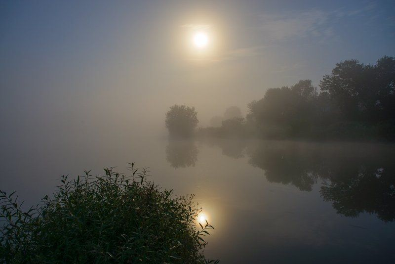 Лунный туман....photo preview