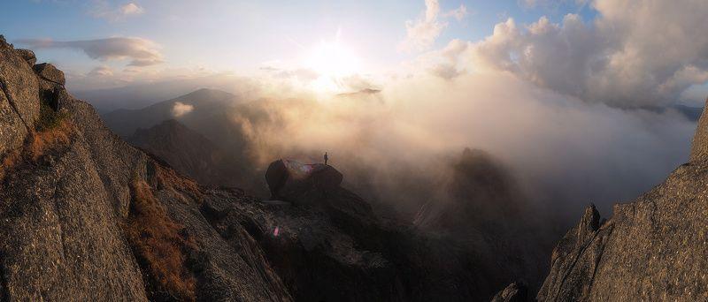 ергаки, птица Закат на Птицеphoto preview