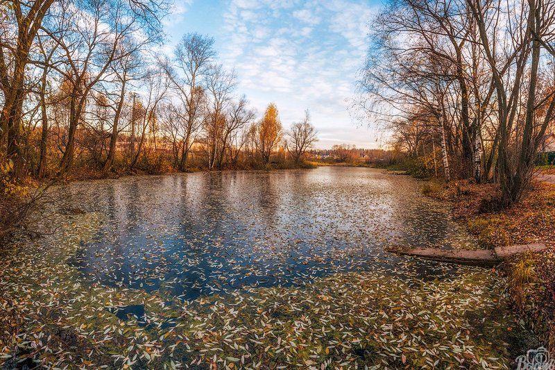 долгопрудный,лёд,осень,хлебниково,павельцево, Первый лёдphoto preview