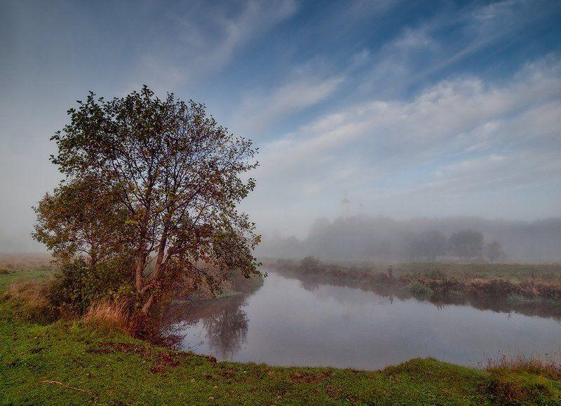 Осенним утром на Шерне...photo preview