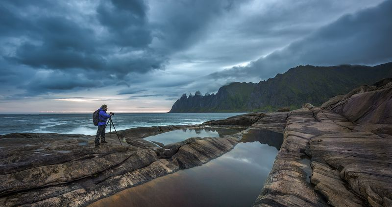 norway, норвегия, море, путешествие, skaland, senja Норвежская сага.photo preview