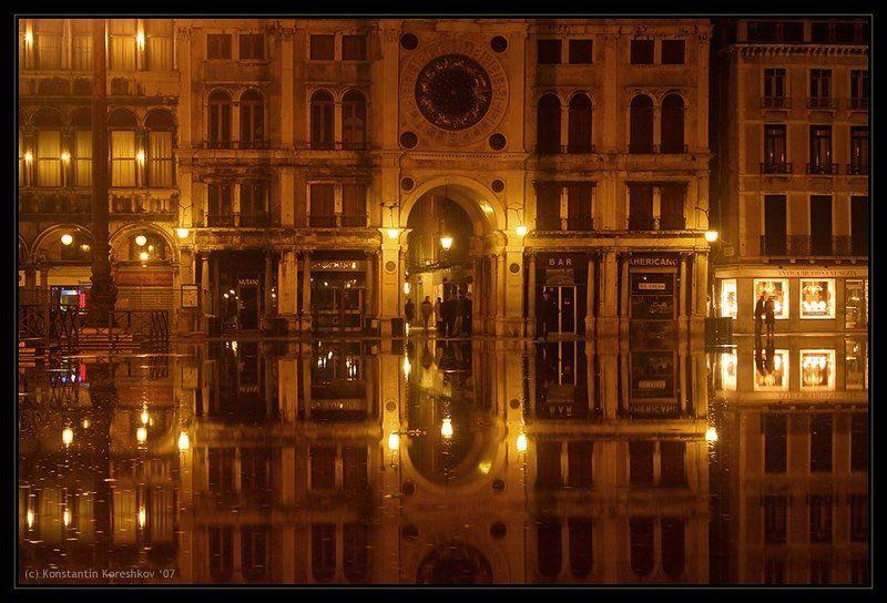 италия, венеция, наводнение, площадь, сан-марко, пьяцца, сан-марко, italy, venice, venezia, piazza, san-marco Наводнение в Венецииphoto preview