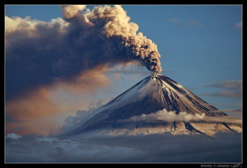вулкан, ключевской Величие природыphoto preview