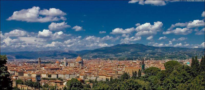 италия, флоренция, город Солнечный городphoto preview