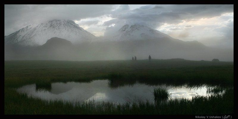 Экспедиция на Безымянку (идущие в тумане)photo preview