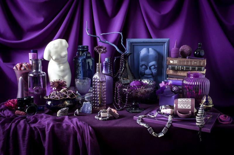 фиолетовый ***photo preview