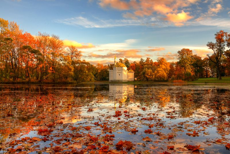 Осень, Санкт-петербург Царскосельская осень...photo preview
