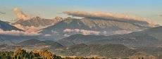 Горы Абхазии.