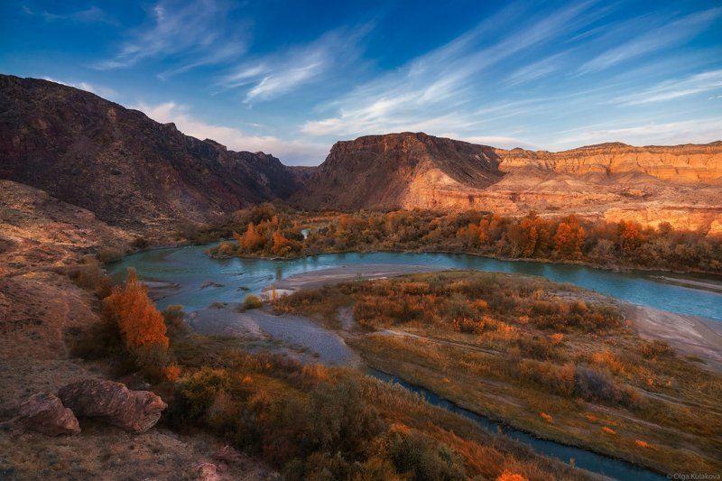 чарын, осень, каньон Осенний Чарынphoto preview