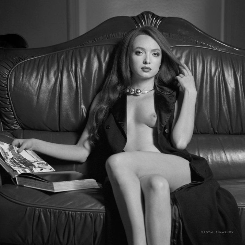 art, beauty, nude, print, portrait, vadym timashov, black and white, queen *****photo preview