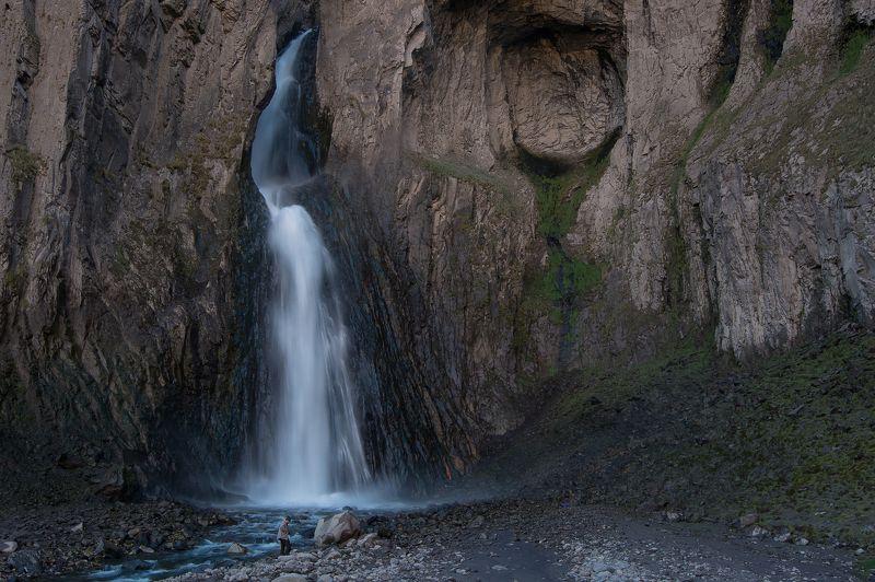 кбр,каракая,водопад, горы ,джилысу Водопад Каракая-Су...photo preview
