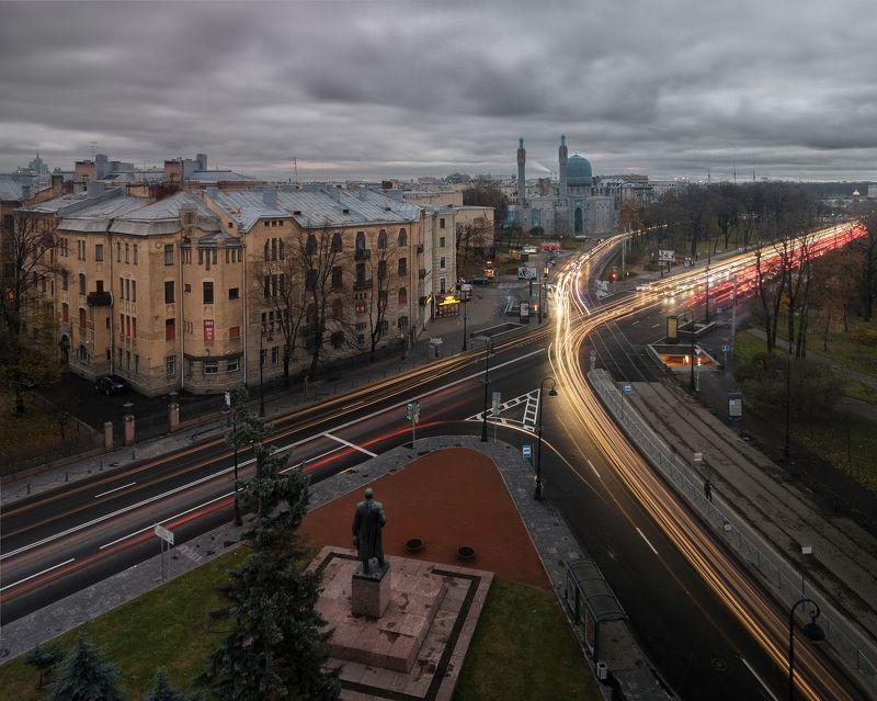 Крыша, город, мечеть, выдержка, urban exploration Gorkovskayaphoto preview