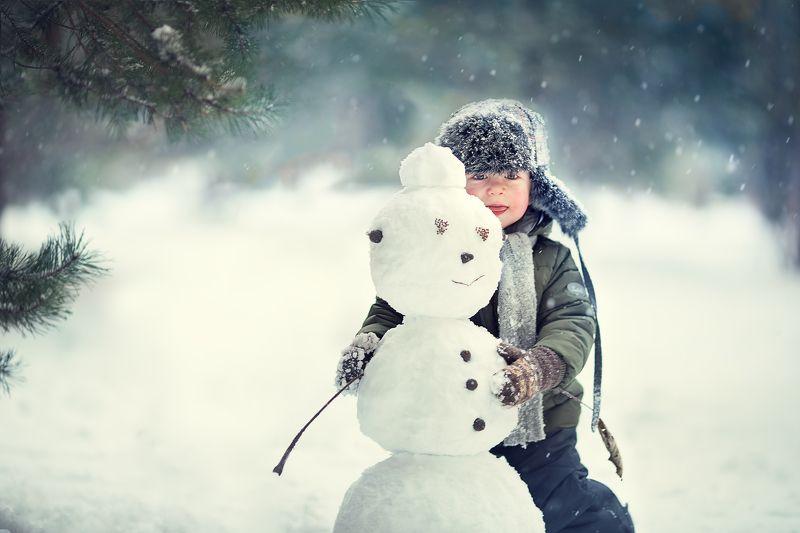 Мой друг снеговикphoto preview