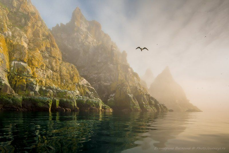охотское, море Удивительные Ямские островаphoto preview