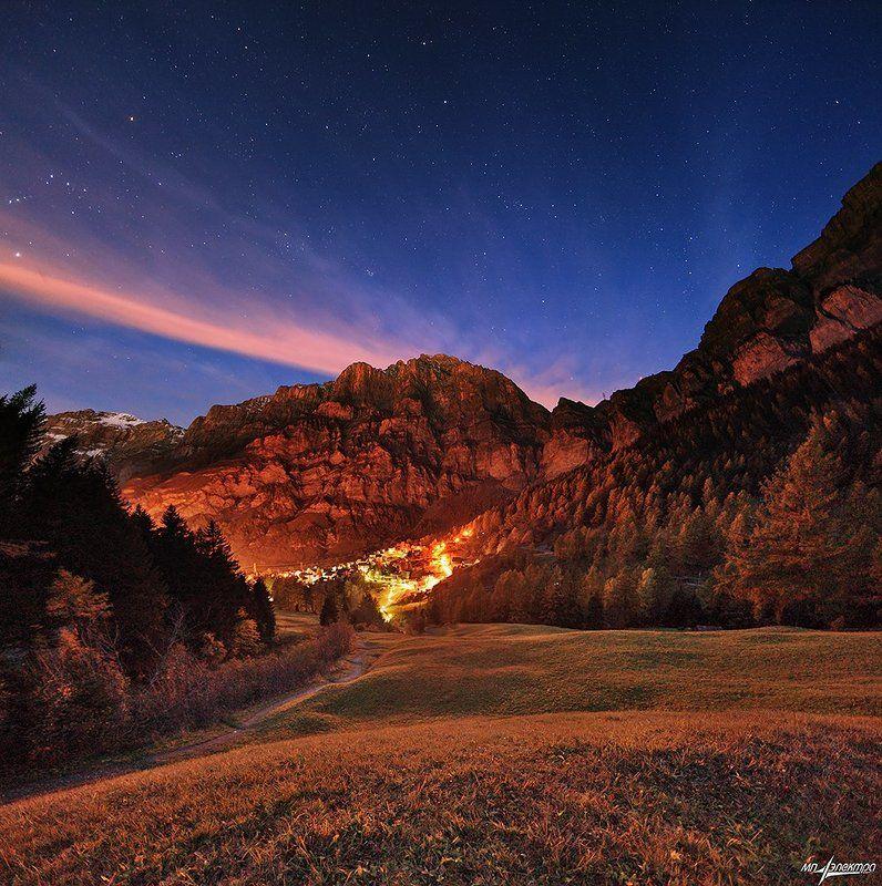 swiss Ночное облакоphoto preview