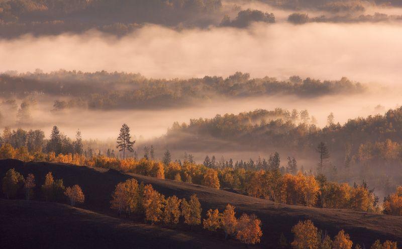 хребет нурали, Южный Урал, осень Погружение в осеньphoto preview