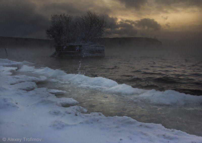 Сибирь Стылый ноябрьphoto preview