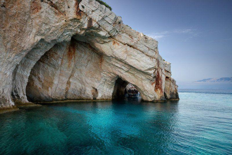 Greece, Sea, Zakintos, Zante, Греция, Закинтос, Закинф Blue Cavesphoto preview