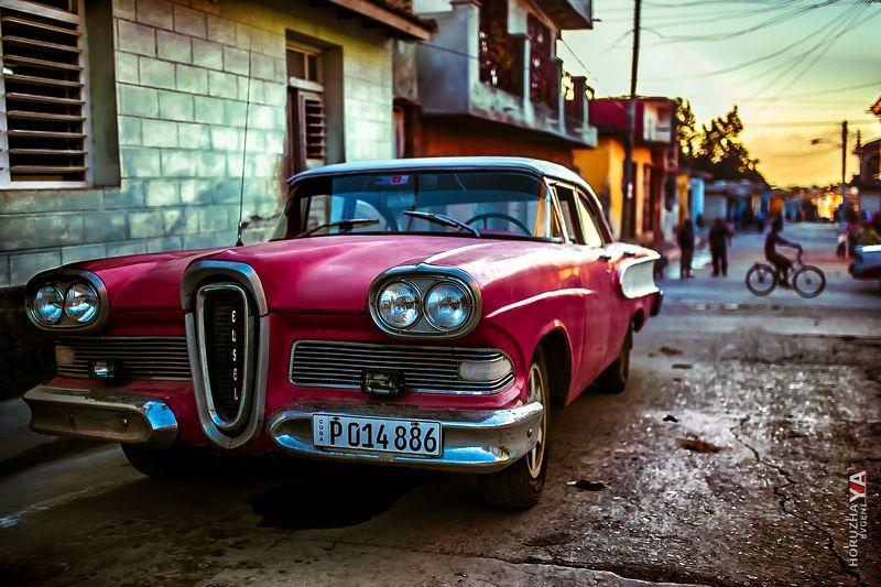 машина, куба, ретро, car Instagram: evgenia_horuzhayaphoto preview